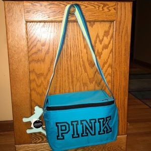 NEW Victoria's Secret PINK Cooler & keychain